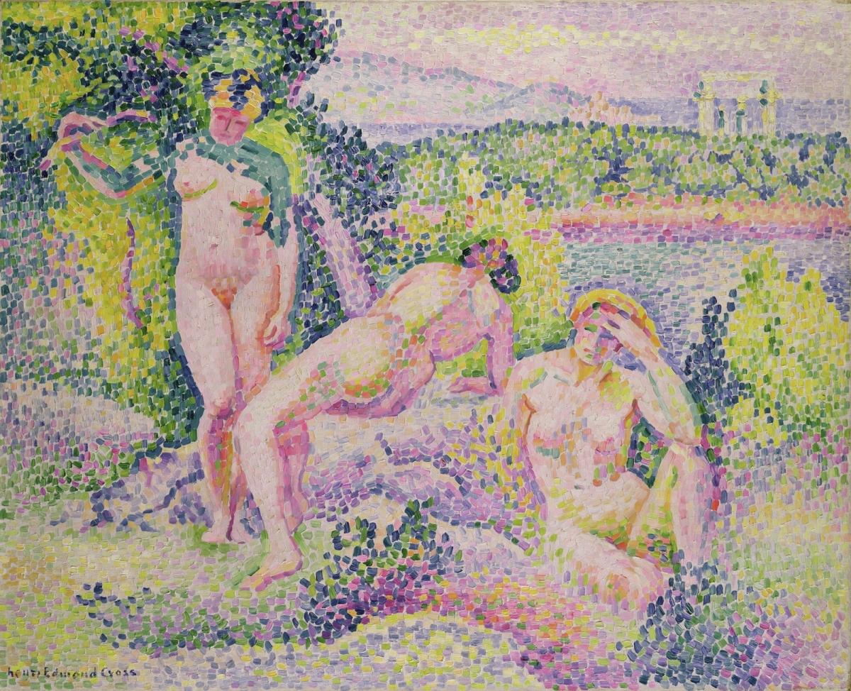 Henri Cross - Three Nudes